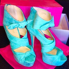 Motivation in Turquoise Heels