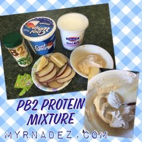 Sweet Peanut Butter Protein DipMixture